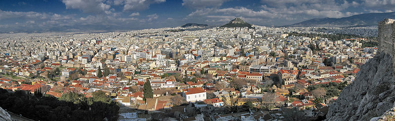 Panoramic view of Athens Greece.jpg