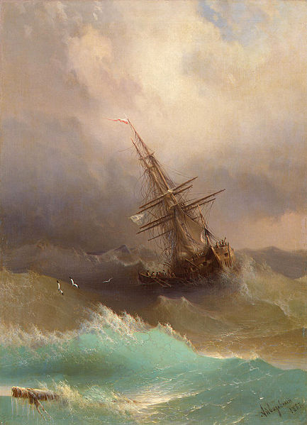 File:Aivazovsky, Ship in the Stormy Sea, 1887.jpg