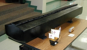 Noahs ark conservapedia the replica of noahs ark shown above is 175 scale for comparison purposes both the railroad stockcar and model of the sailing ship pinta one of malvernweather Gallery