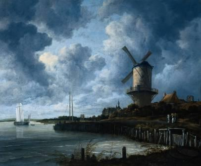 Ruisdael The windmill at Wijk bij Duurstede.jpg