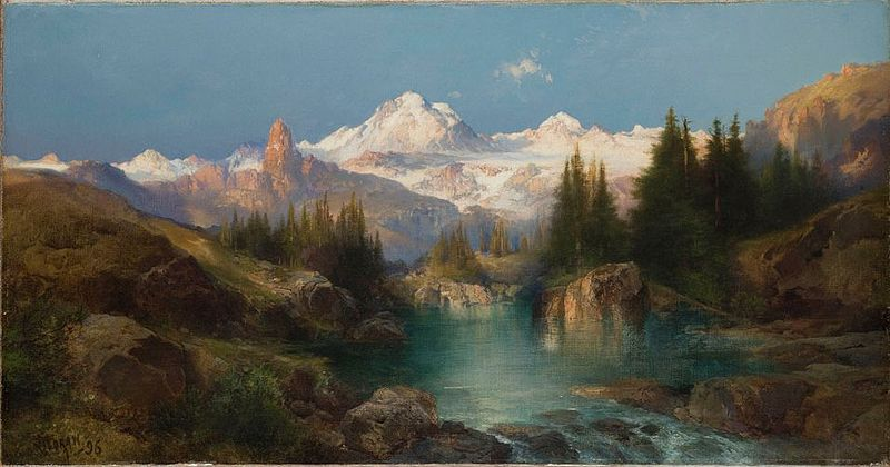 Thomas Moran - Conservapedia
