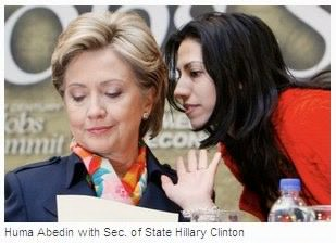 Since 1996 the two have been together, with Abedin traveling the country as  Clinton's