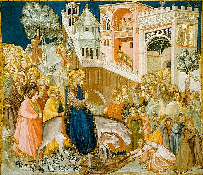 Assisi Frescoes-entry-into-jerusalem Palm Sunday PDWC.jpg
