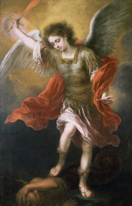 File:Murillo Saint Michael Banishes the Devil to the Abyss.jpg