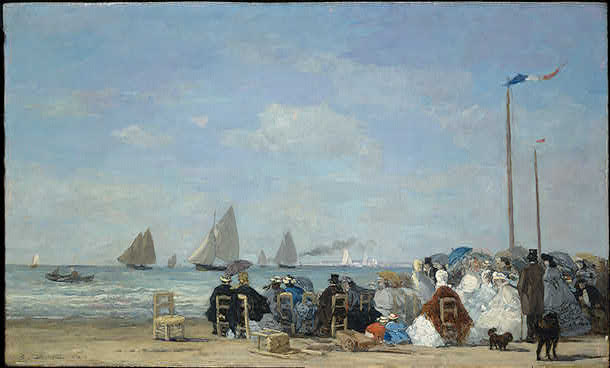 Boudin Beach Scene at Trouville.jpg