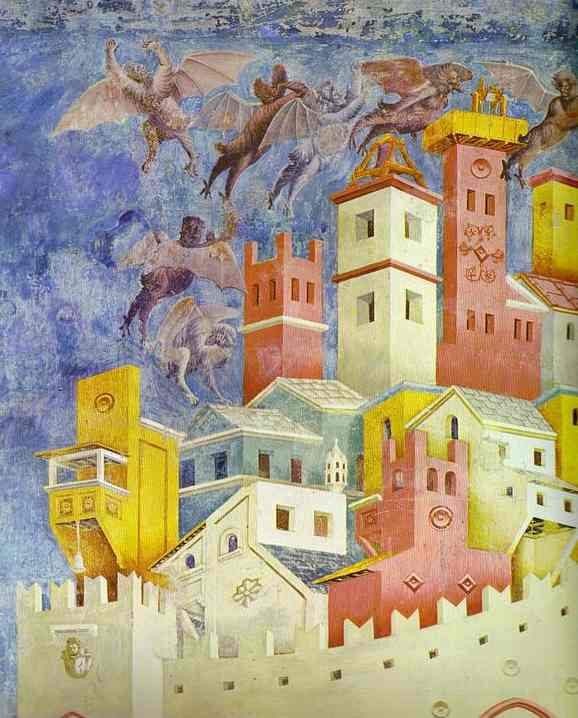 Giotto The Expulsion of the Demons from Arezzo.JPG