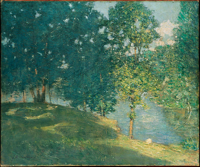 File:Weir, Afternoon by the Pond, ca. 1908-1909.jpg