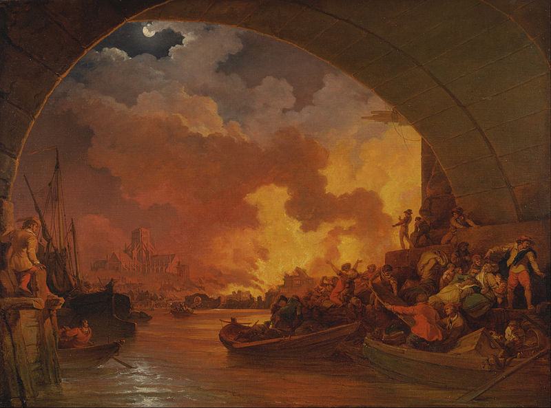 File:Philippe-Jacques de Loutherbourg The Great Fire of London 1797 .jpg