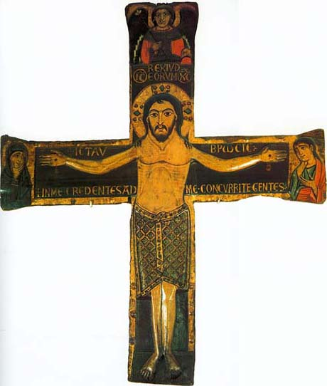 The Holy Crucifiction. Painted in the middle of the XII c..jpg