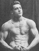 Charles Atlas, Young.