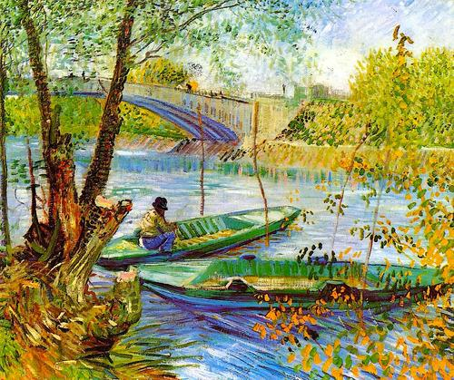Vincent van Gogh Fishing in Spring, the Pont de Clichy, 1887.jpg