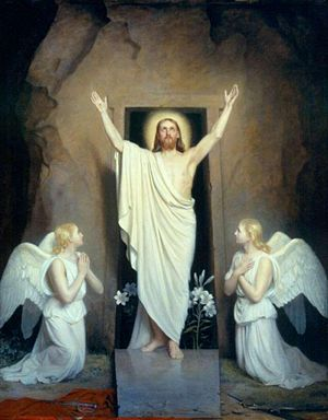 Image result for the resurrection of Jesus Christ