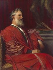 George Frederick Watts, Portrait of Frederic, Lord Leighton.