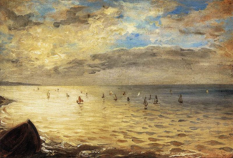 File:Delacroix , The Sea from the Heights of Dieppe, 1852.jpg