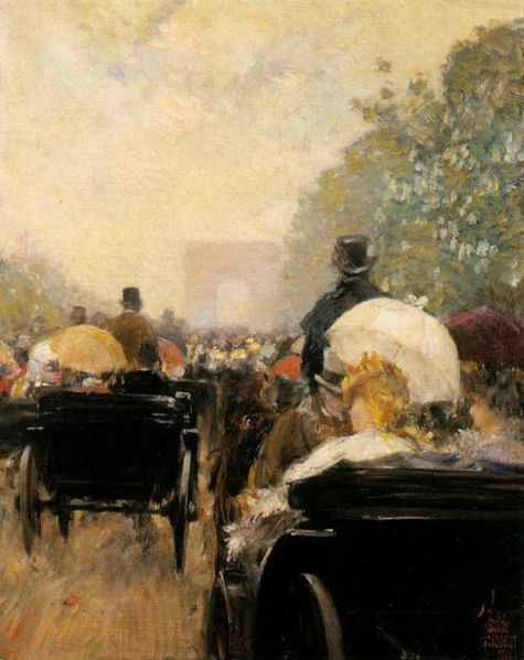 File:Hassam Carriage Parade on Champs Elysees.jpg