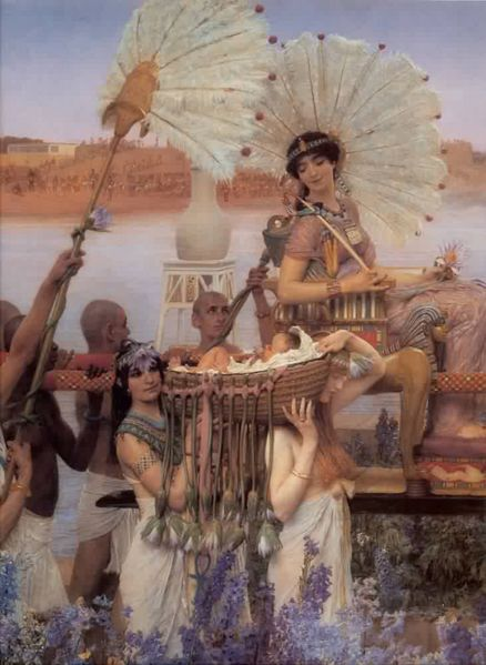 File:Alma Tadema The Finding of Moses detail.jpg