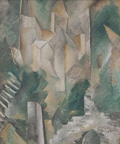 Georges Braque, The Church of Carrieres-Saint-Denis, 1909, Tate.jpg
