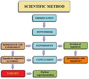 Flow Chart Ilrating The Steps To Scientific Method