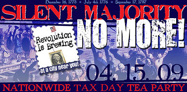 Tax Day Tea Party poster