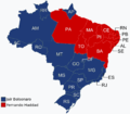 Brazilian presidential election, 2nd round, 2018.png