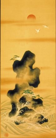 Birds, Japanese painting