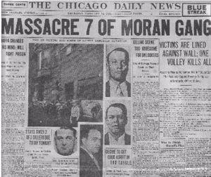 St Valentine S Day Massacre Conservapedia