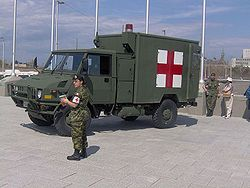 Canadian Army ambulance Medical Truck.jpg