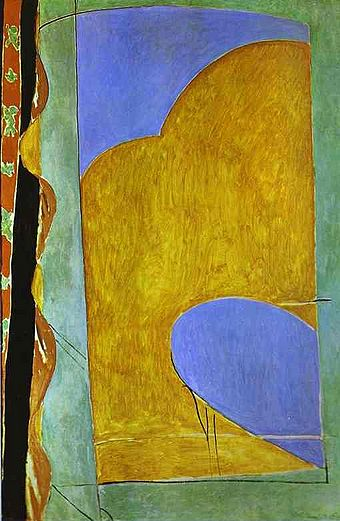 Matisse, The Yellow Curtain.