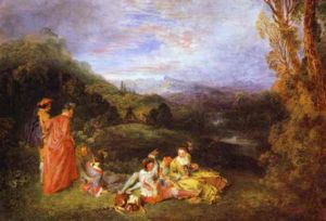 Watteau Peaceful Love